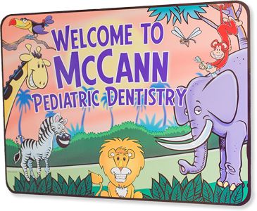 Office sign for Dr. Wes McCann